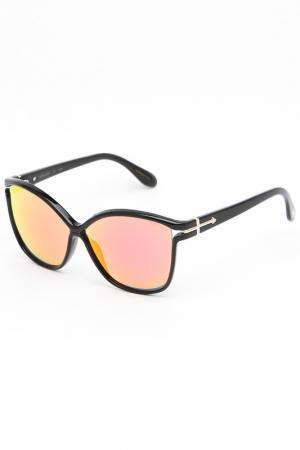 Очки солнцезащитные Trussardi. Цвет: оранжевый