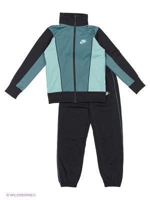 Спортивный костюм B NSW TRK SUIT PAC POLY Nike. Цвет: серо-зеленый