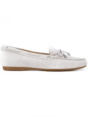 Drawstring loafers Michael Kors. Цвет: серый