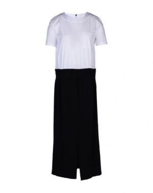 Платье длиной 3/4 VICOLO. Цвет: черный