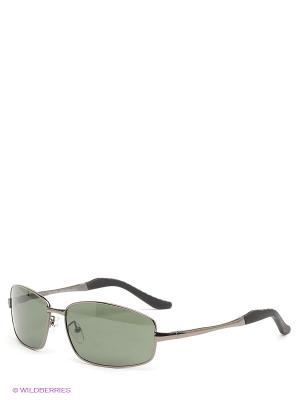 Солнцезащитные очки Selena. Цвет: темно-зеленый, черный