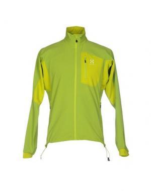 Куртка HAGLÖFS. Цвет: кислотно-зеленый