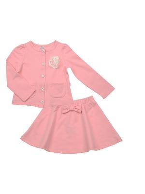 Костюм Mini Maxi. Цвет: розовый