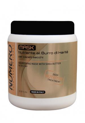 Маска для волос Brelil Professional. Цвет: бежевый