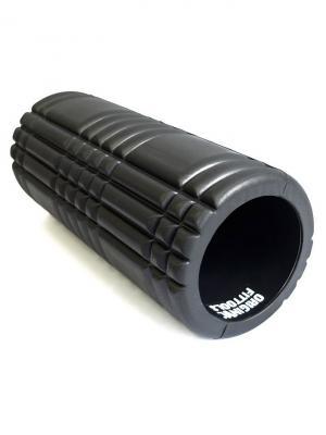 Цилиндр массажный черный Original FitTools. Цвет: черный