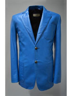 Пиджак Bos Bison. Цвет: голубой