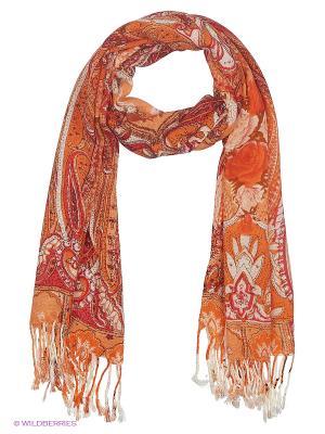 Платок Vittorio Richi. Цвет: оранжевый