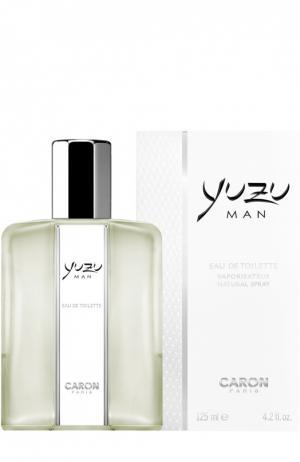 Туалетная вода Yuzu Man Caron. Цвет: бесцветный