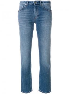 Прямые джинсы Toteme. Цвет: синий