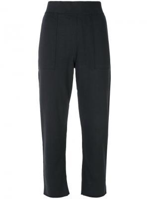 Укороченные свободные брюки Rag & Bone. Цвет: чёрный