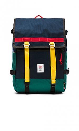 Рюкзак flap TOPO DESIGNS. Цвет: синий