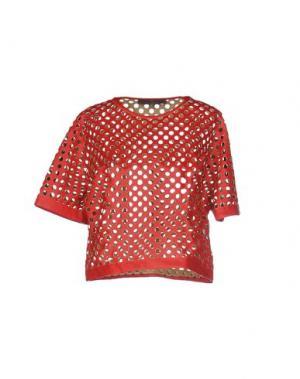 Блузка SPACE STYLE CONCEPT. Цвет: красный