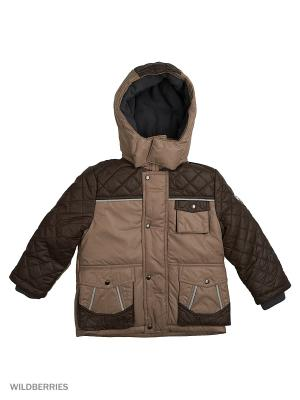 Куртка CHAGA-CHAGA. Цвет: коричневый, бежевый
