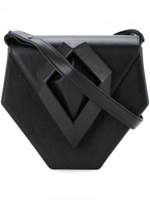 Клатч  Dark Diamond Lamat. Цвет: чёрный