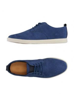 Низкие кеды и кроссовки CLAE. Цвет: ярко-синий