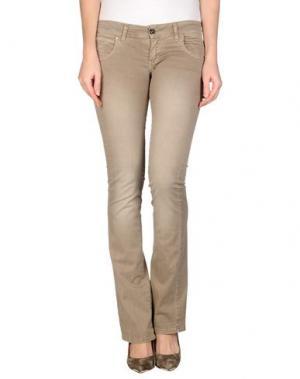 Повседневные брюки H²O LUXURY. Цвет: песочный