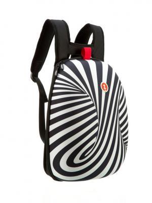 Рюкзак SHELL BACKPACKS, цвет черный/белый ZIPIT. Цвет: черный, белый