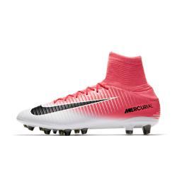 Футбольные бутсы для игры на искусственном газоне  Mercurial Veloce III Dynamic Fit AG-PRO Nike. Цвет: розовый