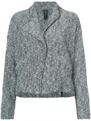 Lapel jacket Zero + Maria Cornejo. Цвет: чёрный