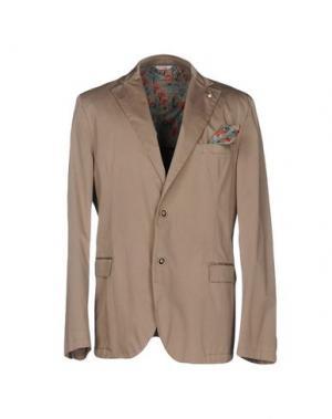 Пиджак MANUEL RITZ. Цвет: хаки