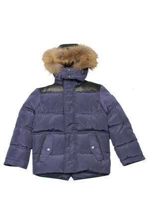 Куртка Arctic Goose. Цвет: синий