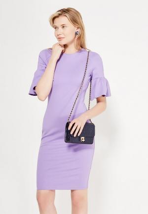 Платье Imocean. Цвет: фиолетовый