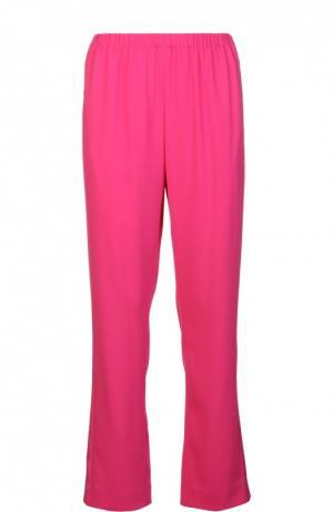 Прямые брюки с лампасами и эластичным поясом Kenzo. Цвет: фуксия