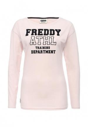 Лонгслив Freddy. Цвет: розовый