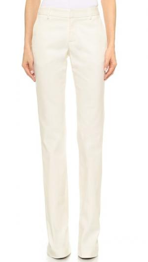 Расклешенные брюки из денима Tess Giberson. Цвет: белый