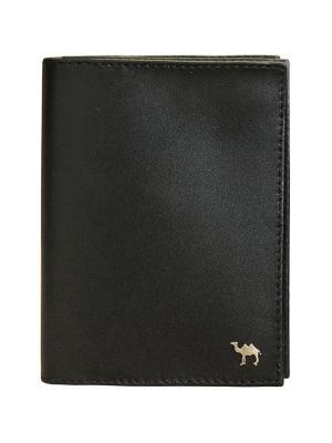 Бумажник водителя Dimanche. Цвет: черный