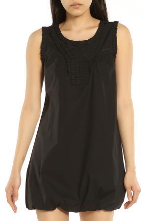 Короткое платье без рукавов ERMANNO BY SCERVINO. Цвет: 900 black