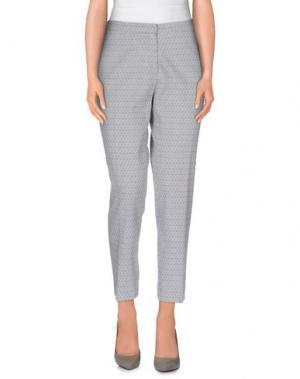 Повседневные брюки JUST IN CASE. Цвет: светло-серый