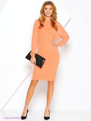 Платье Xarizmas. Цвет: оранжевый