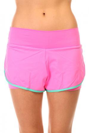 Шорты пляжные женские  Trend Shorts Pink CajuBrasil. Цвет: розовый