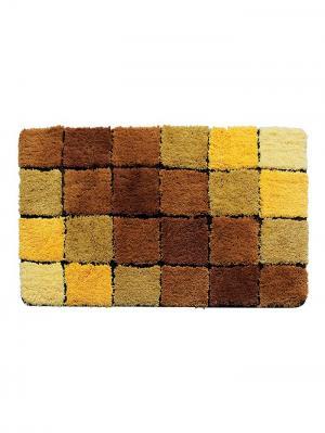 Коврик для ванной IDDIS. Цвет: бежевый, коричневый