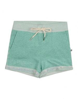 Повседневные шорты MICROBE. Цвет: светло-зеленый