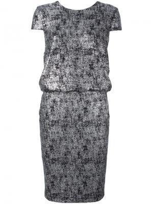 Платье Locha Talbot Runhof. Цвет: чёрный