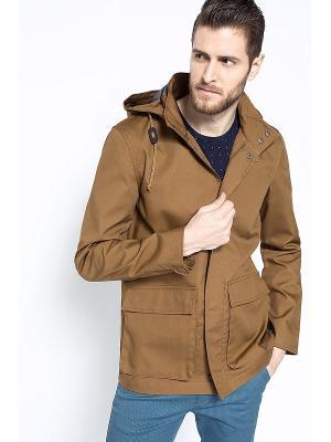 Куртка Medicine. Цвет: коричневый
