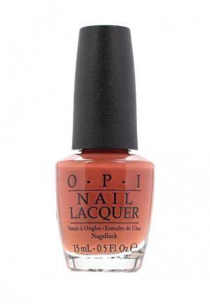 Лак для ногтей O.P.I. Цвет: оранжевый