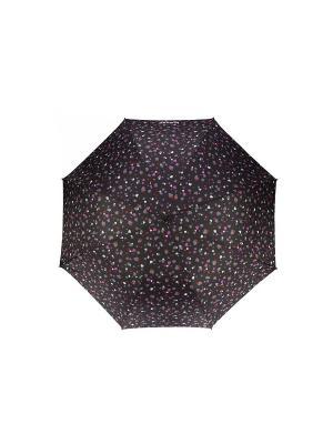 Зонт Isotoner. Цвет: черный, розовый, серый