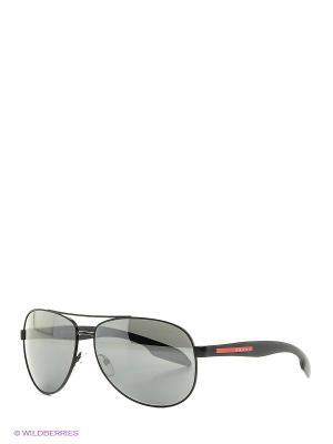 Очки солнцезащитные BENBOW Prada Linea Rossa. Цвет: черный