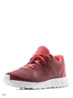 Кроссовки ZX FLUX ADV TECH SHOES Adidas. Цвет: красный