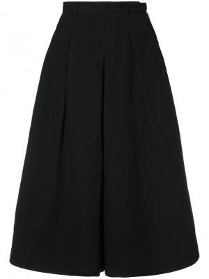 Укороченные брюки-палаццо YMC. Цвет: чёрный