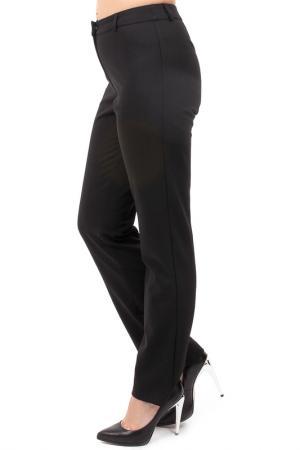 Прямые брюки с застежкой Pure. Цвет: черный