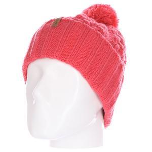 Шапка женская  Sienna Beanie Coral Celtek. Цвет: розовый