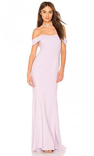 Вечернее платье bartolli LIKELY. Цвет: бледно-лиловый