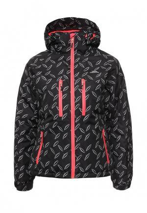 Куртка горнолыжная Trespass. Цвет: черный