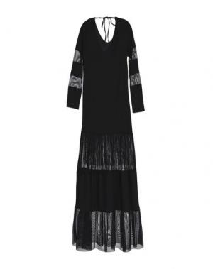 Длинное платье DV Roma. Цвет: черный