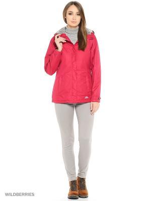 Куртка демисезонная Trespass. Цвет: красный