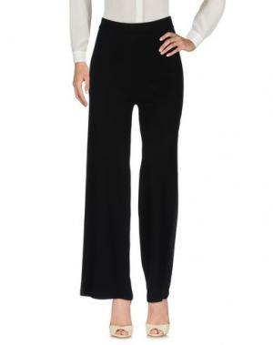 Повседневные брюки AMÀNDULA. Цвет: черный